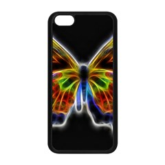 Fractal Butterfly Apple iPhone 5C Seamless Case (Black)