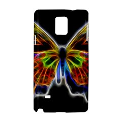 Fractal Butterfly Samsung Galaxy Note 4 Hardshell Case
