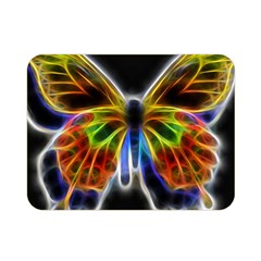 Fractal Butterfly Double Sided Flano Blanket (Mini)