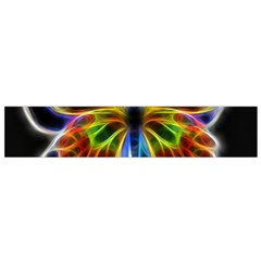Fractal Butterfly Flano Scarf (Small)