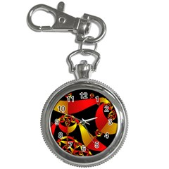 Fractal Ribbons Key Chain Watches