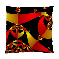 Fractal Ribbons Standard Cushion Case (two Sides)