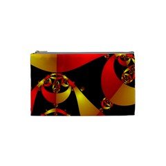 Fractal Ribbons Cosmetic Bag (Small)