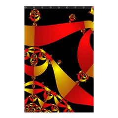 Fractal Ribbons Shower Curtain 48  X 72  (small)