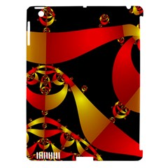 Fractal Ribbons Apple Ipad 3/4 Hardshell Case (compatible With Smart Cover)