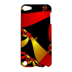 Fractal Ribbons Apple Ipod Touch 5 Hardshell Case
