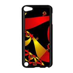 Fractal Ribbons Apple iPod Touch 5 Case (Black)