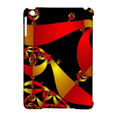 Fractal Ribbons Apple iPad Mini Hardshell Case (Compatible with Smart Cover)