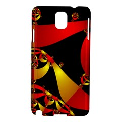 Fractal Ribbons Samsung Galaxy Note 3 N9005 Hardshell Case