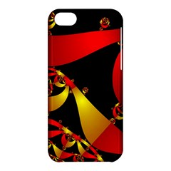 Fractal Ribbons Apple iPhone 5C Hardshell Case
