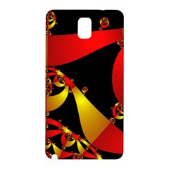 Fractal Ribbons Samsung Galaxy Note 3 N9005 Hardshell Back Case
