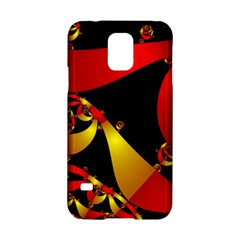 Fractal Ribbons Samsung Galaxy S5 Hardshell Case