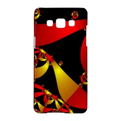 Fractal Ribbons Samsung Galaxy A5 Hardshell Case