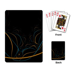 Fractal Lines Playing Card