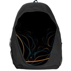 Fractal Lines Backpack Bag