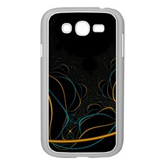 Fractal Lines Samsung Galaxy Grand DUOS I9082 Case (White)