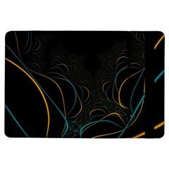 Fractal Lines iPad Air Flip