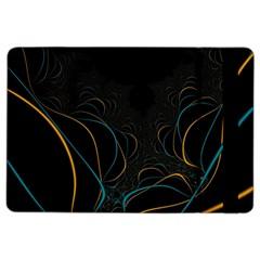 Fractal Lines iPad Air 2 Flip