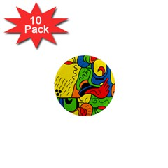 Mexico 1  Mini Magnet (10 pack)