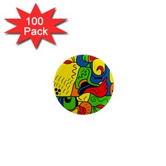 Mexico 1  Mini Magnets (100 pack)