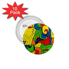 Mexico 1.75  Buttons (10 pack)