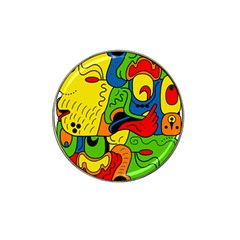 Mexico Hat Clip Ball Marker (10 pack)