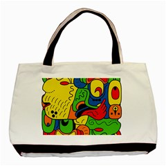 Mexico Basic Tote Bag (Two Sides)