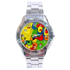 Mexico Stainless Steel Analogue Watch