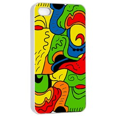 Mexico Apple iPhone 4/4s Seamless Case (White)