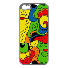 Mexico Apple iPhone 5 Case (Silver)