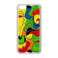 Mexico Apple iPhone 5C Seamless Case (White)