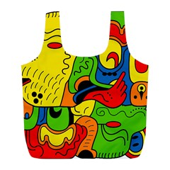 Mexico Full Print Recycle Bags (L)