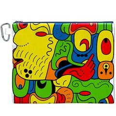 Mexico Canvas Cosmetic Bag (XXXL)