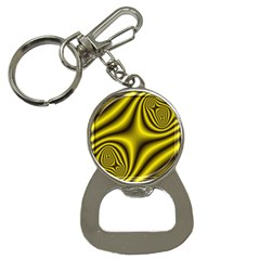 Yellow Fractal Button Necklaces