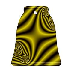 Yellow Fractal Ornament (bell)