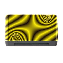 Yellow Fractal Memory Card Reader with CF