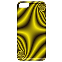 Yellow Fractal Apple iPhone 5 Classic Hardshell Case