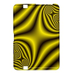 Yellow Fractal Kindle Fire HD 8.9