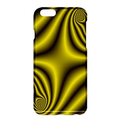 Yellow Fractal Apple iPhone 6 Plus/6S Plus Hardshell Case