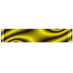 Yellow Fractal Flano Scarf (large)