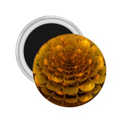 Yellow Flower 2 25  Magnets