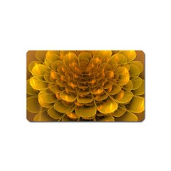 Yellow Flower Magnet (name Card)