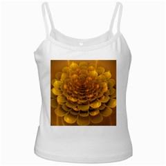 Yellow Flower Ladies Camisoles