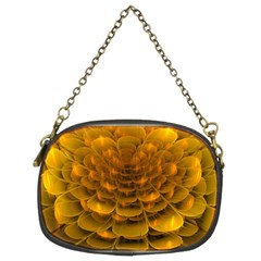 Yellow Flower Chain Purses (two Sides)