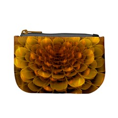 Yellow Flower Mini Coin Purses