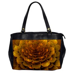 Yellow Flower Office Handbags