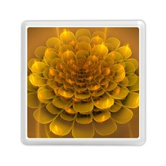 Yellow Flower Memory Card Reader (square)