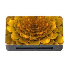 Yellow Flower Memory Card Reader with CF