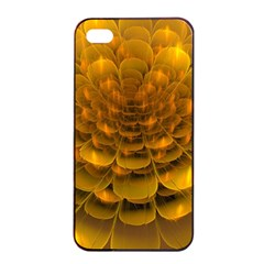 Yellow Flower Apple Iphone 4/4s Seamless Case (black)