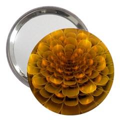 Yellow Flower 3  Handbag Mirrors